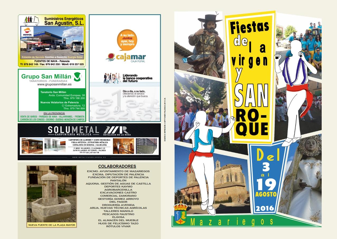 Fiestas de la Virgen y San Roque 2016
