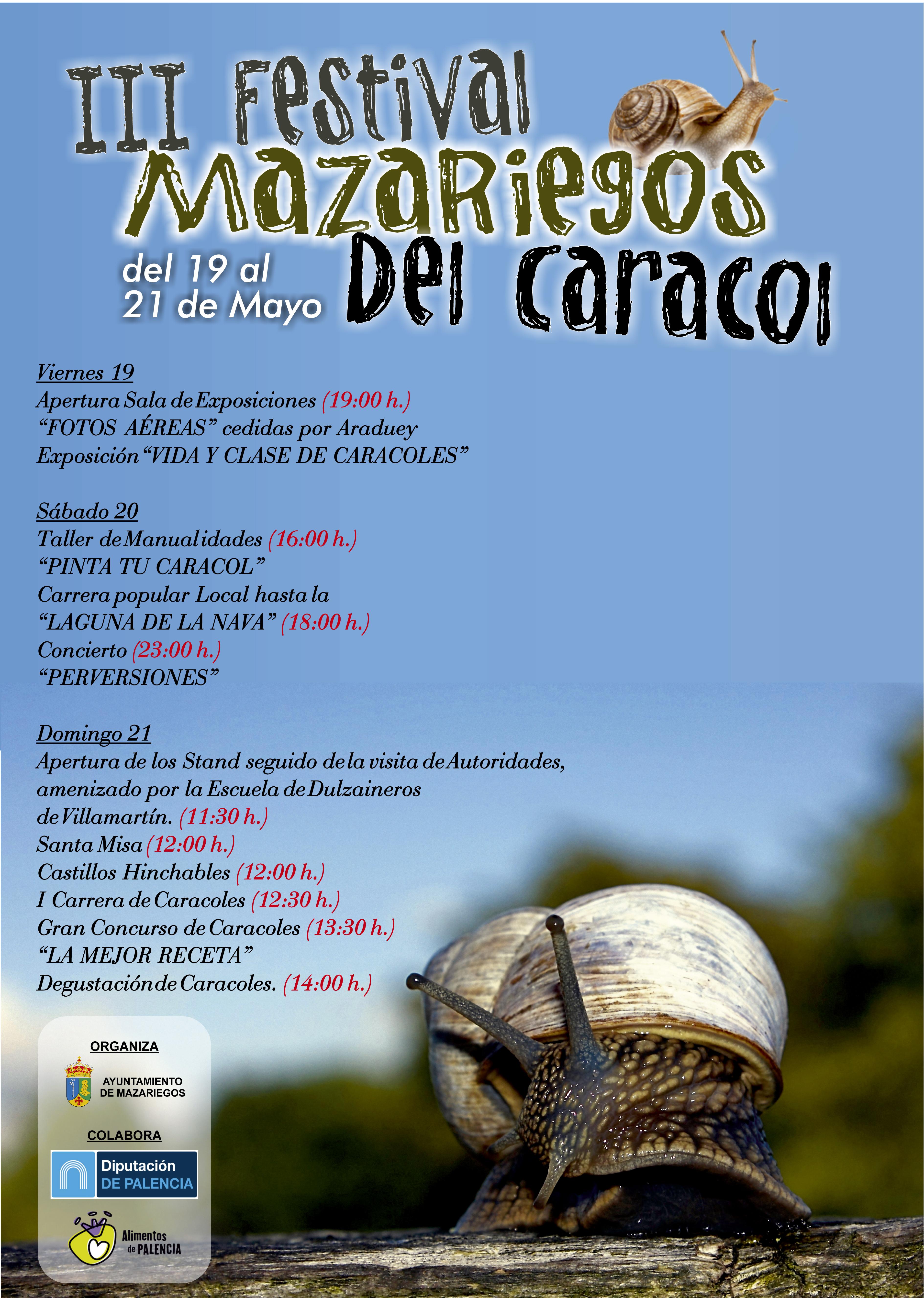 III Festival Mazariegos del caracol