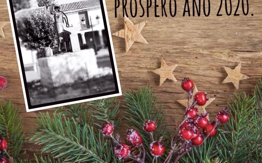 Feliz Navidad y Própero año 2020